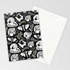 Classic Horror Halloween Stationery Cards