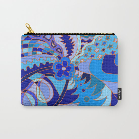 Abstract 30 Carry-All Pouch