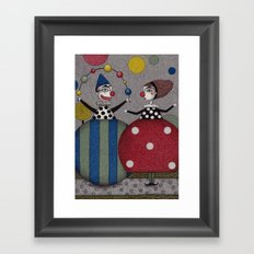 Ball Game (2) Framed Art Print