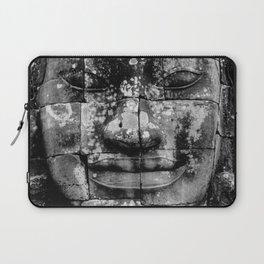 Cambodia. Angor Wat. Faces of Lokesvara Laptop Sleeve