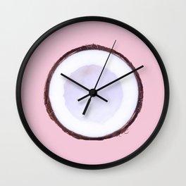 Сoconut Wall Clock