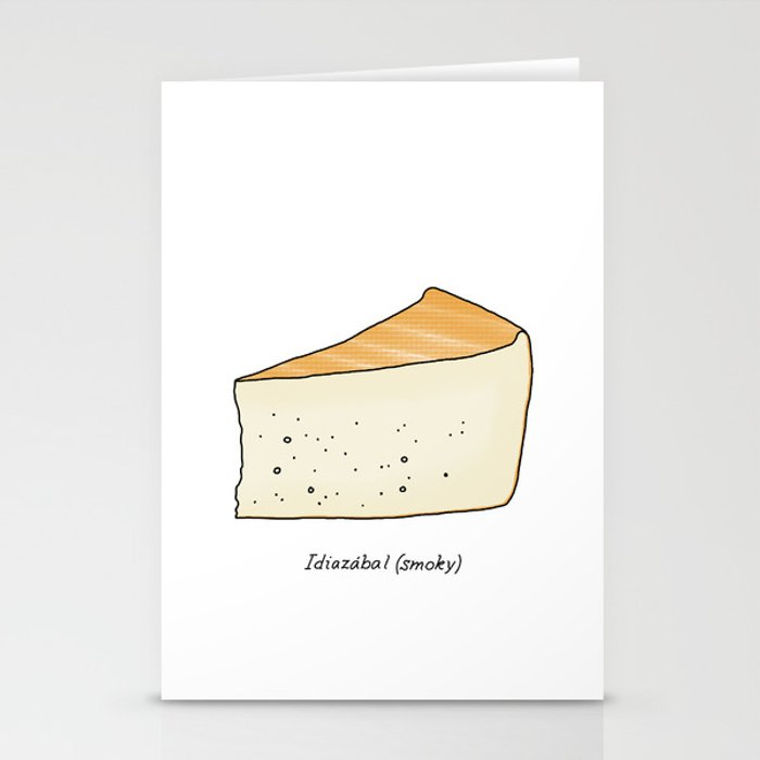 Idiazábal - smoky cheese Stationery Cards