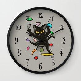 Bouldering Wall Clock