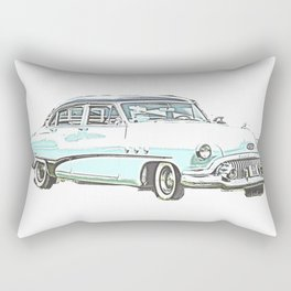 Buick Light bywhacky Rectangular Pillow