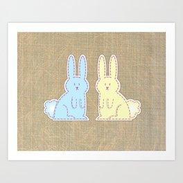 Bunny Time Art Print