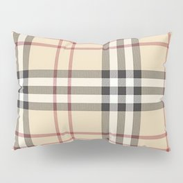 red line patter Pillow Sham