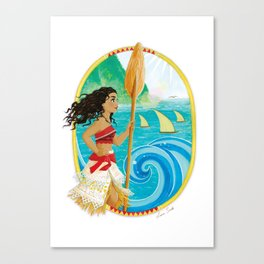Explorer of the sea Canvas Print