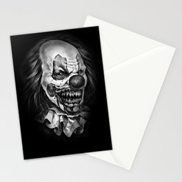 horror clown Stationery Cards