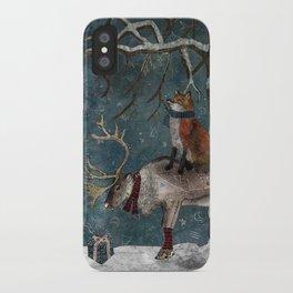 Winter Tale iPhone Case