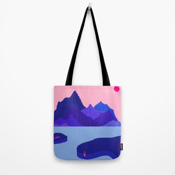 Mountain Hike//Missing Bike Tote Bag