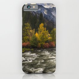 The Leavenworth Bend iPhone Case