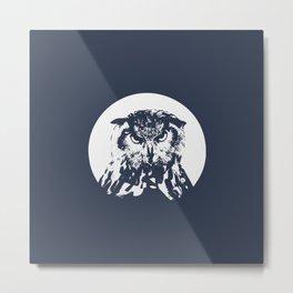 O-OWL Metal Print