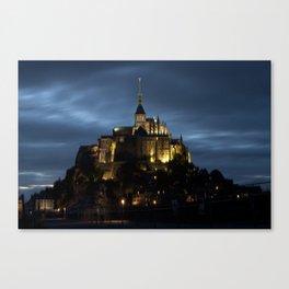 Mont-Saint-Michel Canvas Print