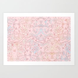 Mandala Creation 12 Art Print