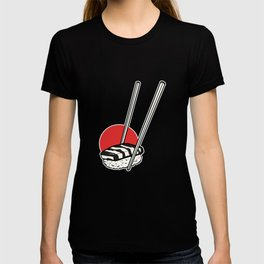 Japan Flag Sushi Foodie And Sushi Lover Gift T-shirt
