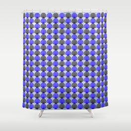Shells Pattern Shower Curtain