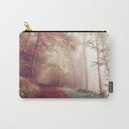 Misty Autumn Day Carry-All Pouch