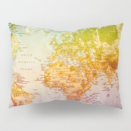 Colorful World Pillow Sham