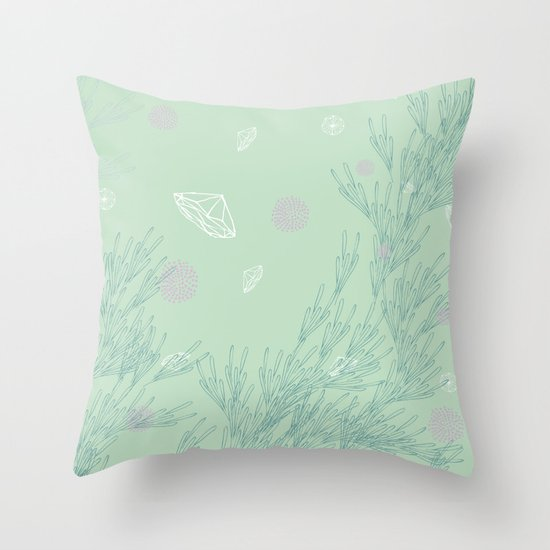Ebb & Flow Throw Pillow