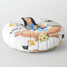 The Chronic Illness Warrior (CFS/ME) Floor Pillow