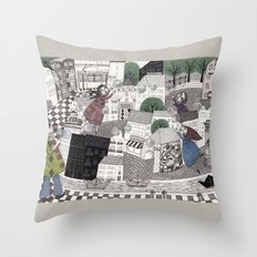 Catch Them if you Can Throw Pillow