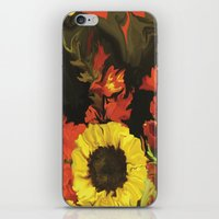 nick cave iPhone & iPod Skins featuring Cave  by DesignsByMarly
