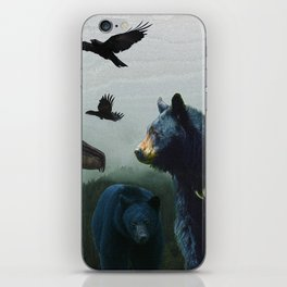 The Sacred Trail of the Great Bear iPhone Skin