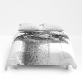 Hello-you ostrich sk130 Comforters