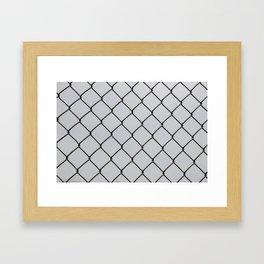 Chain Links Framed Art Print