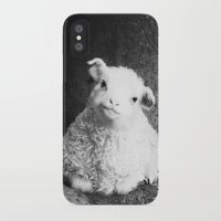 lamb iPhone & iPod Cases featuring Lamb by Garpa