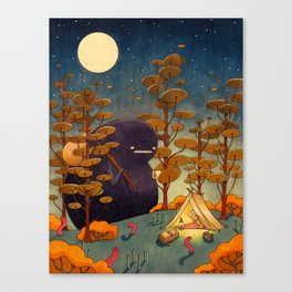 The Opposite Canvas Print