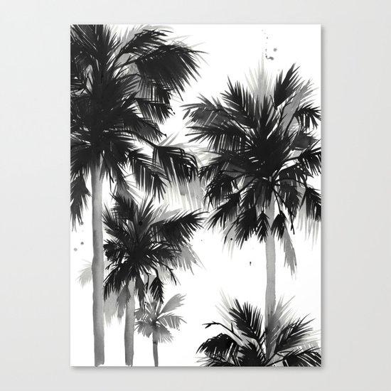 Paradis Noir IV Canvas Print
