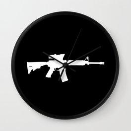 M4 Assault Rifle Wall Clock
