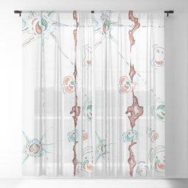 Permeate Sheer Curtain
