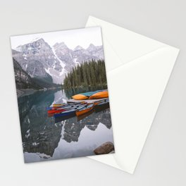 Moraine Lake | Banff National Park, Alberta, Canada | John Hill Photography Stationery Cards