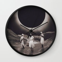 'Ecliptic Dances' Wall Clock