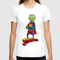 kermit T-shirts featuring Kermit the Superman by JoshEssel