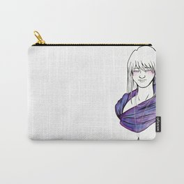 Purple Drop Carry-All Pouch