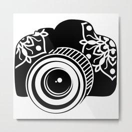 Camera Design Metal Print