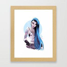 jinx Framed Art Print