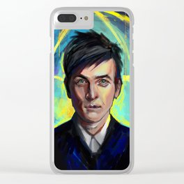 oswald cobblepot Clear iPhone Case