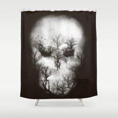 Dark Forest II Shower Curtain