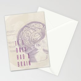 If I Only Had A Brain Stationery Cards