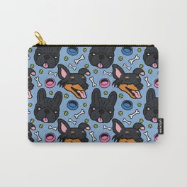 Pip & Lyla Blue Carry-All Pouch