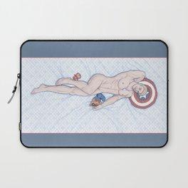 Steve Pinup Heroic Nude Laptop Sleeve
