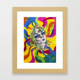 Amazing world of Kristin Framed Art Print