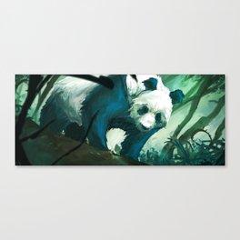 The Lurking Panda Canvas Print