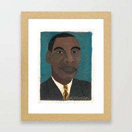 Horace Pippin Self-Portrait II, 1944 Framed Art Print