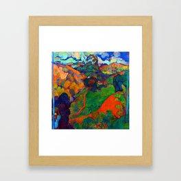 Charles Laval Landscape of Martinique Framed Art Print