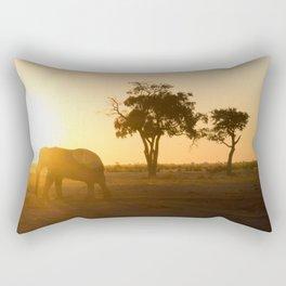 Into the Sunset Rectangular Pillow
